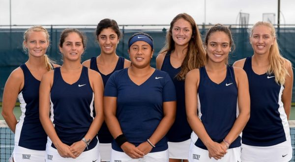 UNF Women's Tennis. Photos courtesy of UNF Athletics