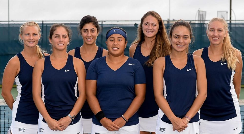 UNF Women's Tennis. <i>Photos courtesy of UNF Athletics</i>
