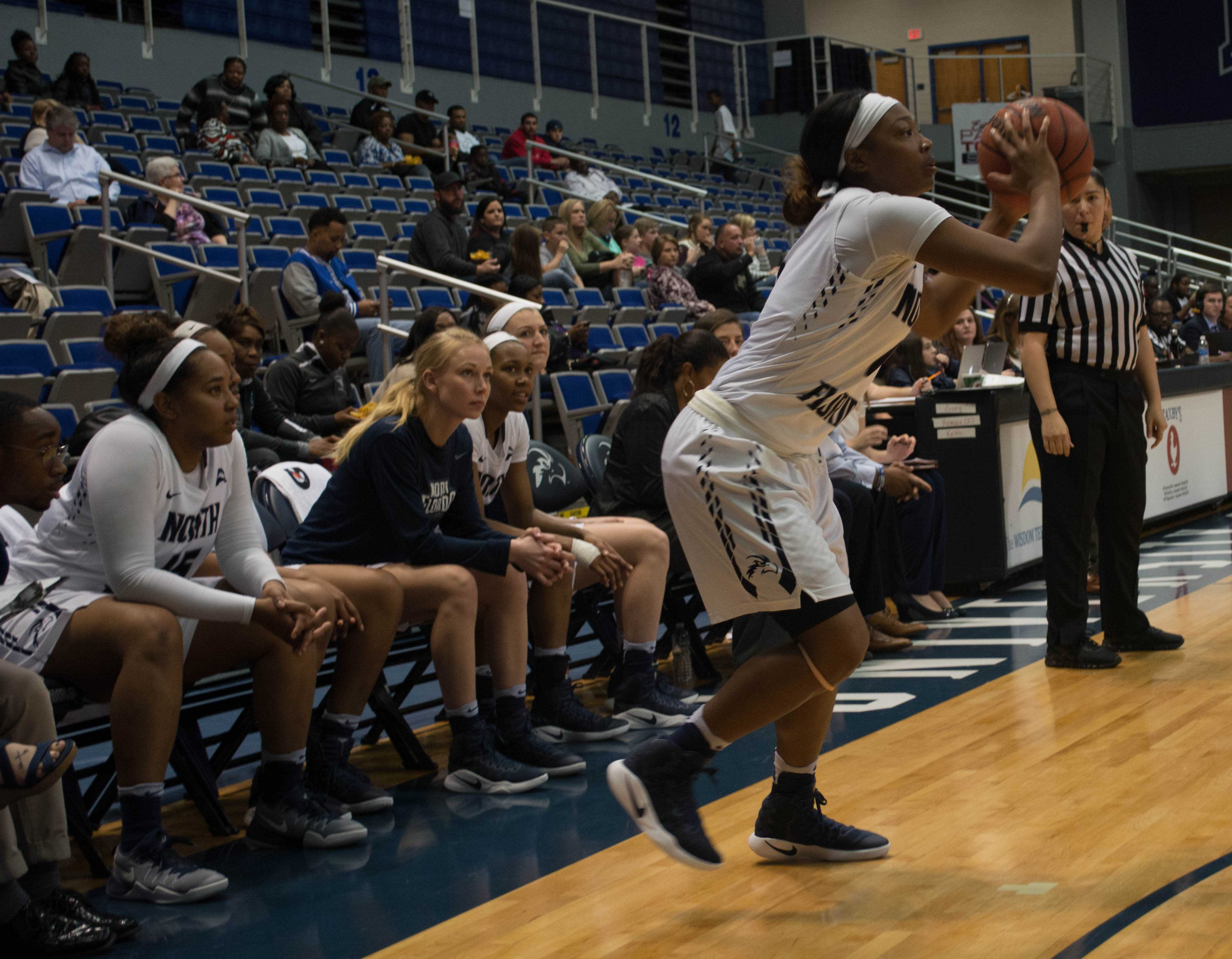North Florida falls to Hatters 62-44