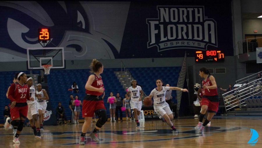 North Florida halts the Highlanders, 61-51