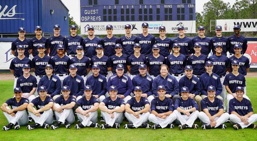 UNF baseball team.  Photos courtesy of UNF athletics