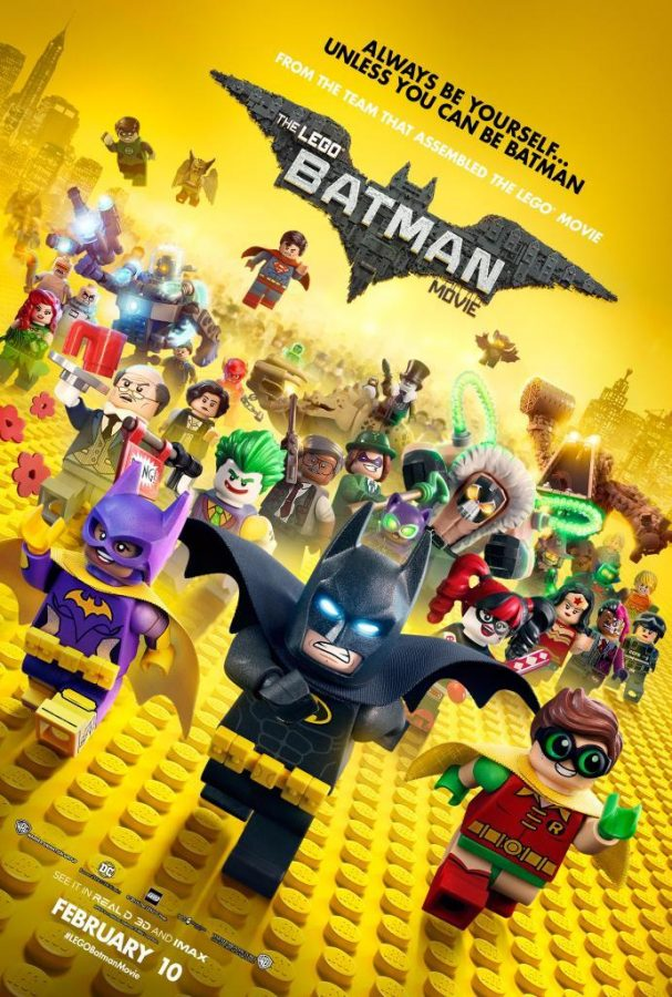The Lego Batman Movie.  Photo courtesy of Google
