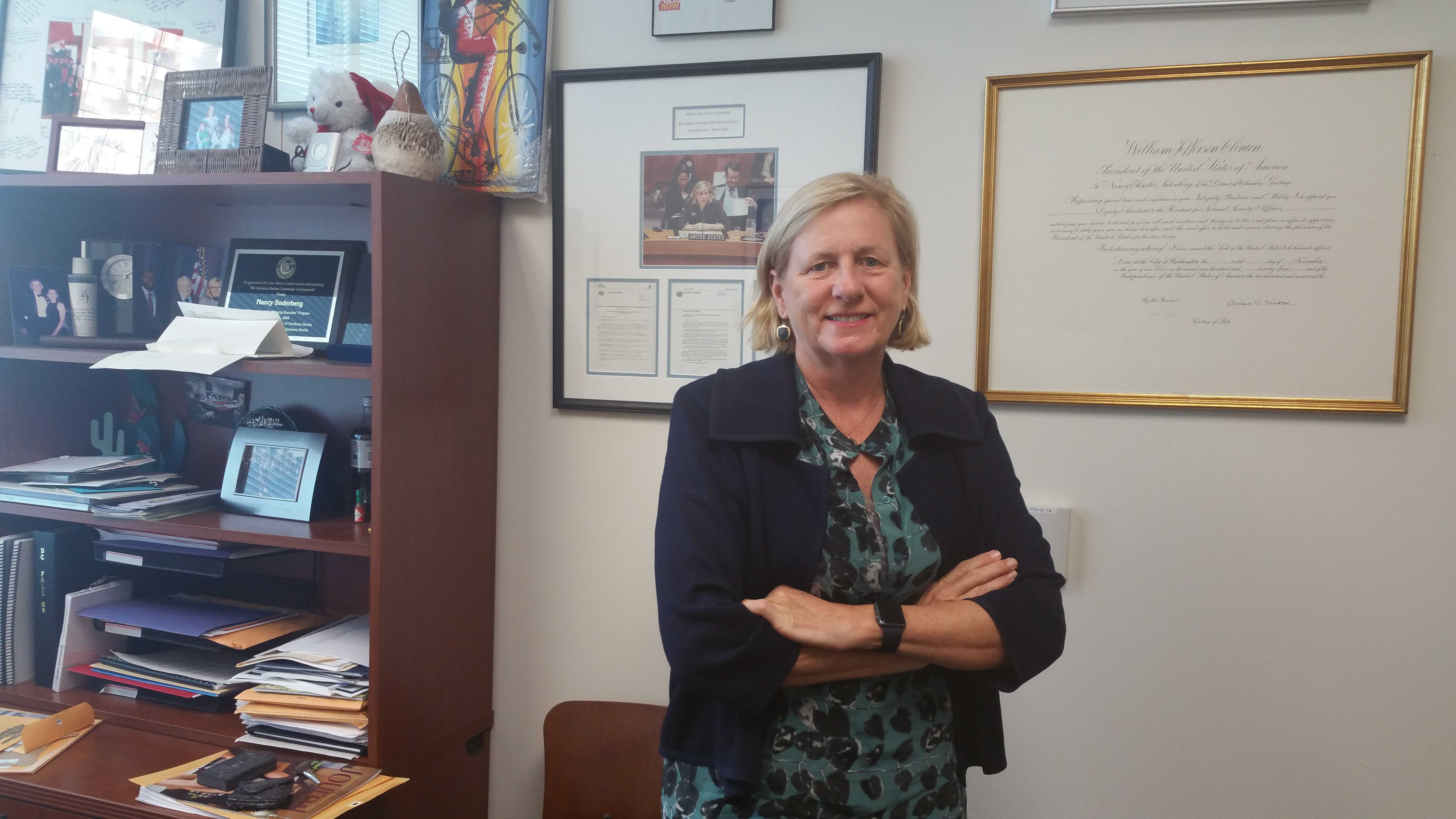 Professor Spotlight: Nancy Soderberg