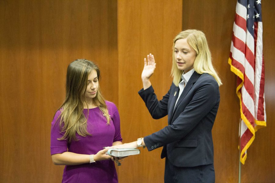 Mims sworn in; legislative elections held