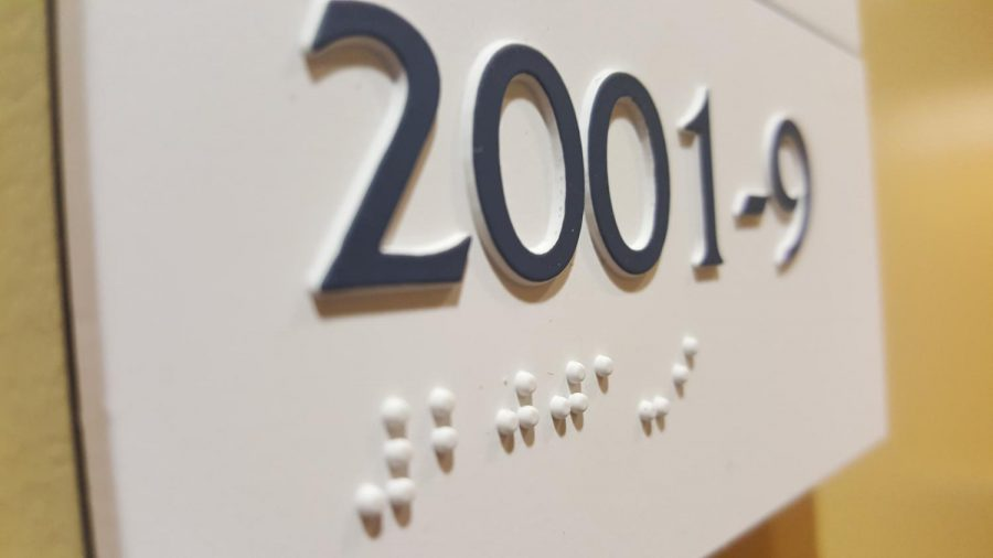 Braille Initiative aims to put signs on UNF buildings