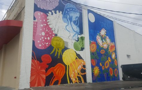UNF student designs Murray Hill mural