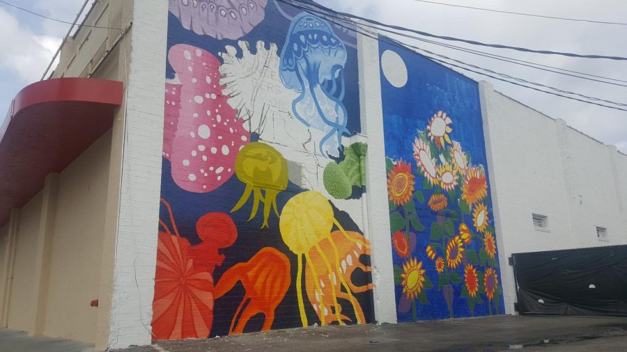 UNF student designs Murray Hill mural