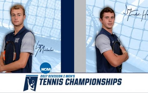 Doubles partners Jack Findel-Hawkins and Lasse Muscheites