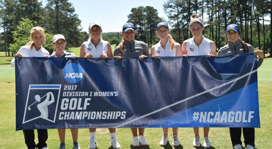 The women's golf team ends their season at UGA. Picture courtesy of UNF Athletics