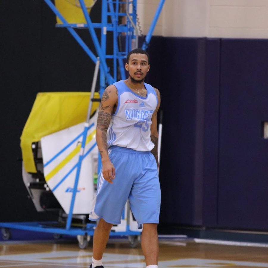 Moore worked out with the Nuggets earlier this year. Courtesy of Dallas Moore