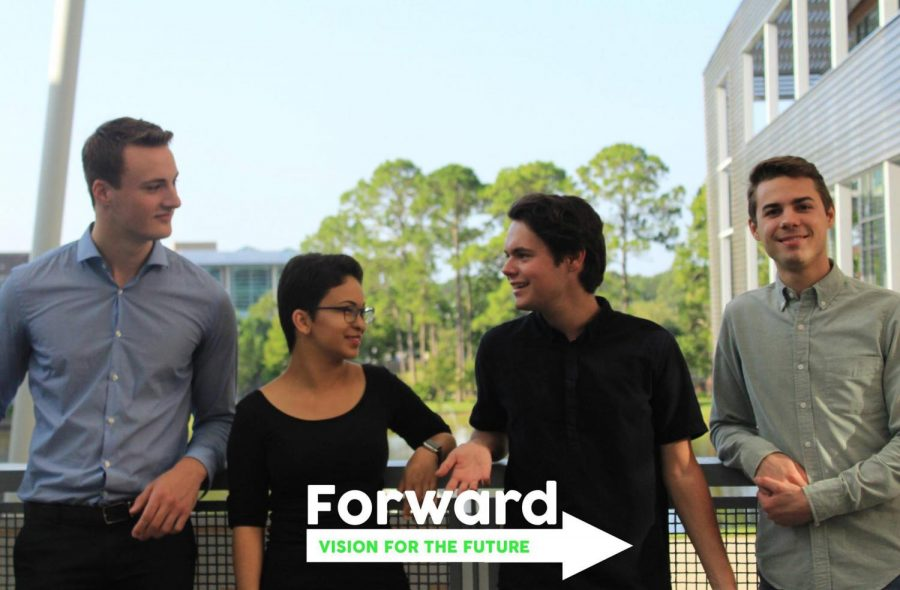 The Forward party hopes to bring some changes to UNF. Photo courtesy of Forward UNF