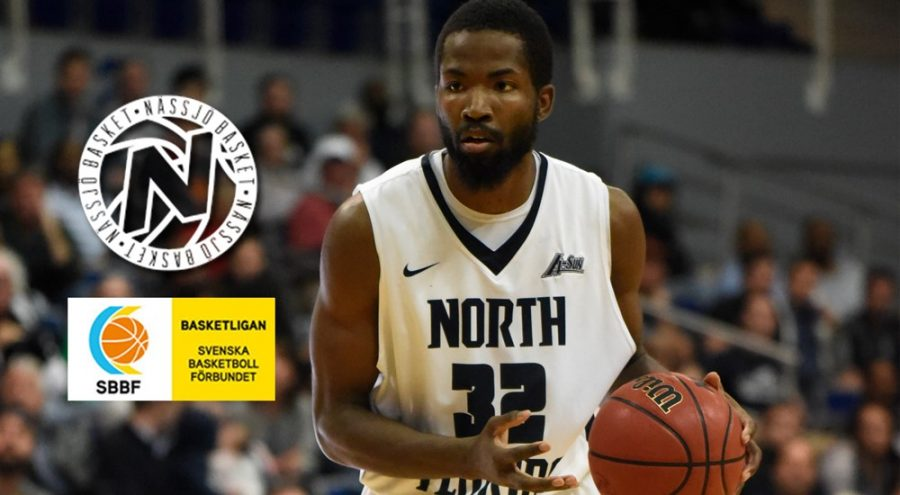 """Demarcus """"BaeBae"""" Daniels signed his first professional contract with  the Swedish team. Photo courtesy of UNF Athletics"""