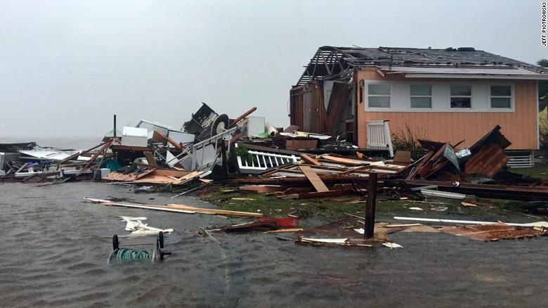 Hurricane Harvey has caused catastrophic damage across Texas. Photo courtesy of CNN