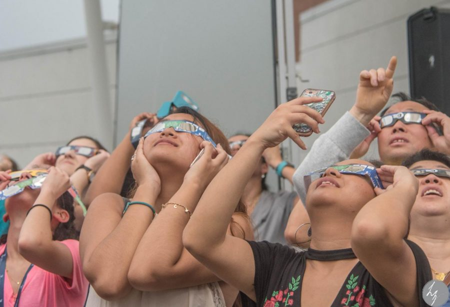 Rain and clouds didn't stop UNF's Great American Eclipse party