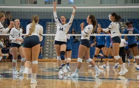 UNF volleyball bounces back in home opener over Savannah State