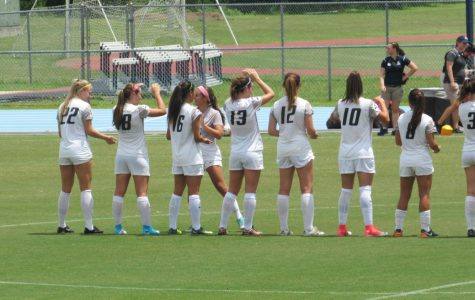 Women's soccer wins exhibition match
