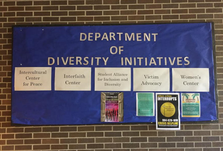 The university offers many initiatives to help with diversity. Photo by Hannah Lee
