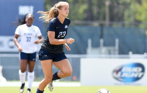 Junior forward Krista Colubiale. Photo courtesy of UNF Athletics.