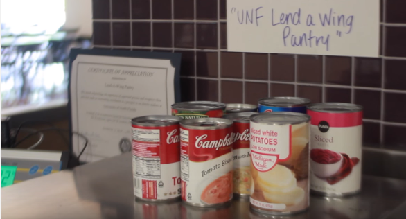 Lend-A-Wing provides food for student free and anonymously. Photo by Spinnaker Media