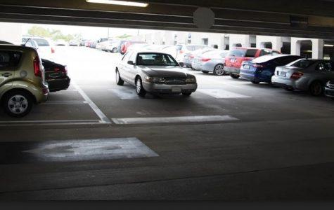Parking can be a bit crazy. Photo by Lili Weinstein