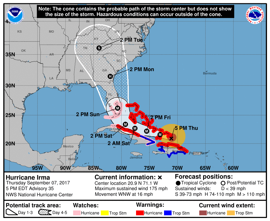 Governor Deal declares state of emergency ahead of Irma