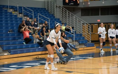 Volleyball defeated on the road over the weekend