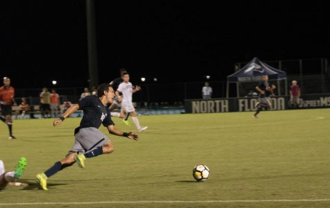 UNF men's soccer falls to Georgia Southern