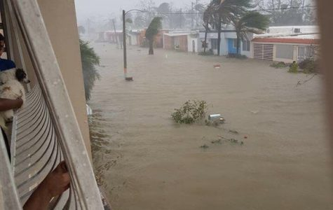 """Hurricane Maria is referred by Governor Rosello as the """"worst hurricane Puerto Rico has faced in modern history."""" Photo courtesy Yangel Rosario."""