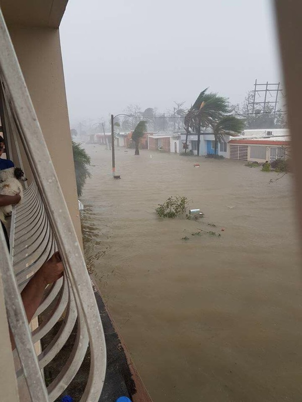 "Hurricane Maria is referred by Governor Rosello as the ""worst hurricane Puerto Rico has faced in modern history."" Photo courtesy Yangel Rosario."