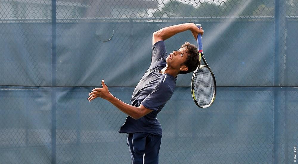 Junior Sahil Deshmukh. Photo courtesy of UNF Athletics.