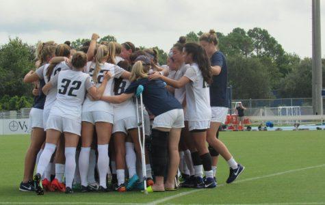 UNF women's soccer earn fifth straight win