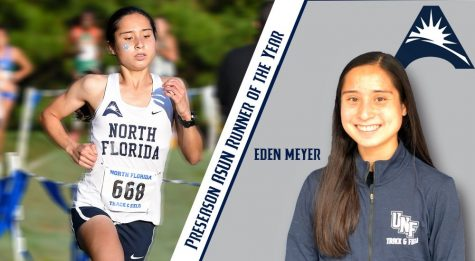 Eden Meyer earns All American honors