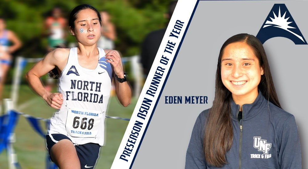 Senior+cross+country+runner+Eden+Meyer.+Photo+courtesy+of+UNF+Athletics.%0A%0A