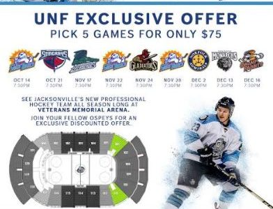 Student discounts available for IceMen hockey tickets