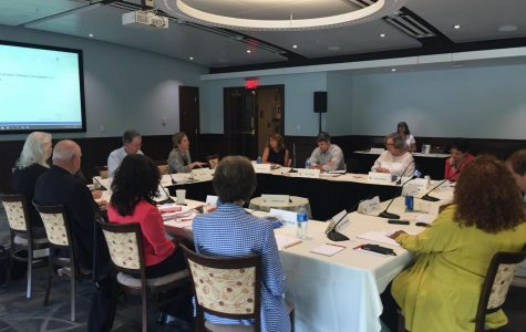 Presidential Search Committee reviews draft position announcement