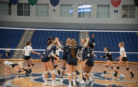 North Florida Volleyball sweeps Stetson at UNF Arena