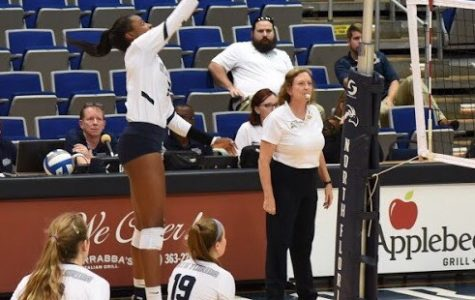 North Florida volleyball drops fifth conference game