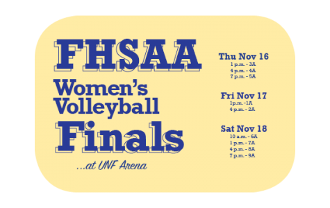 UNF to host high school volleyball state championship