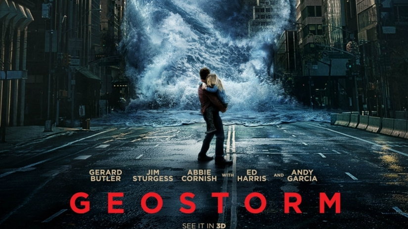 Even the Syfy channel will shake its head at 'Geostorm'