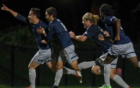Men's soccer defeat JU