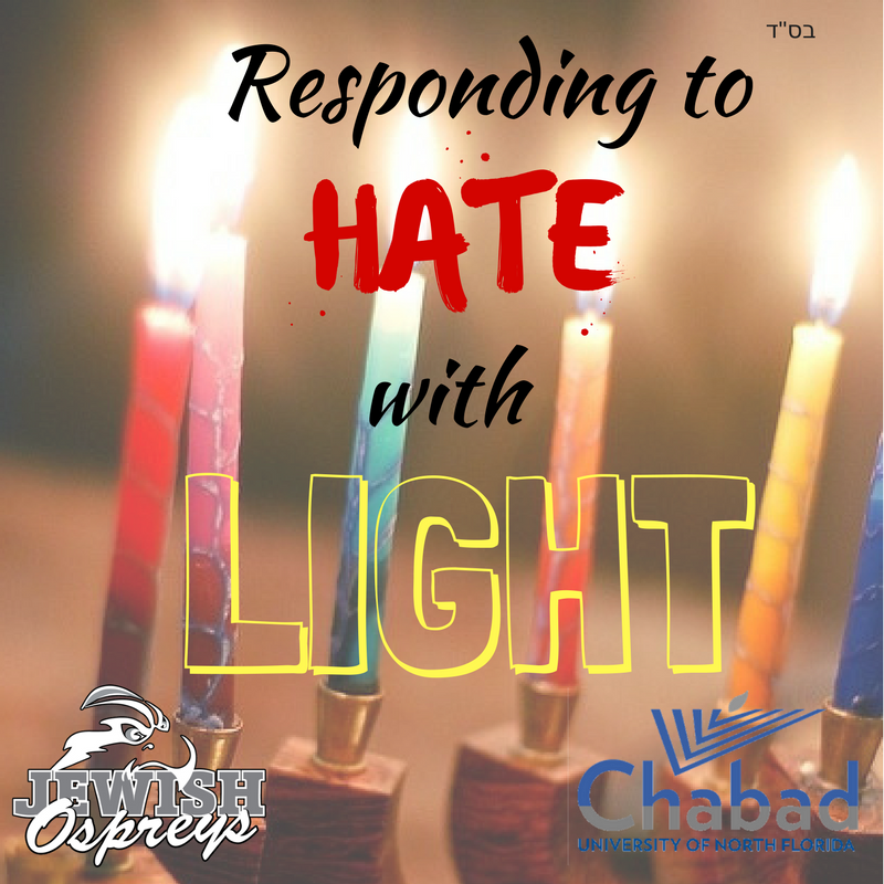 Letter to the Editor: Chabad at UNF responds to white nationalist hate, offers counseling
