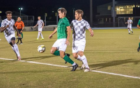 Men's soccer taken down by the Dolphins in ASUN first round