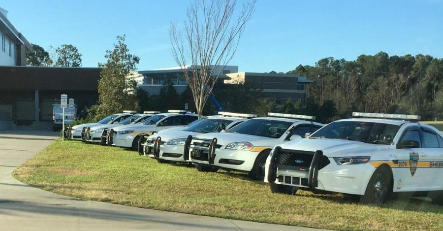 Police cars. Photo by Spinnaker Media.