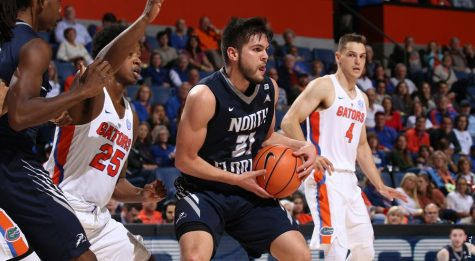 North Florida men's basketball falls to No. 8 Florida