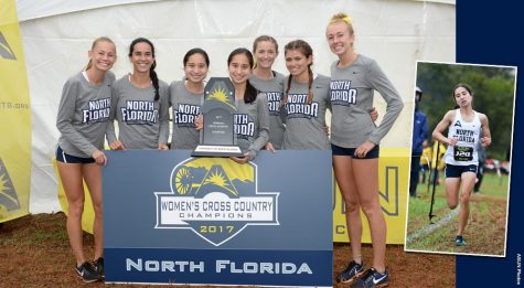 UNF cross country wins over UF in Mountain Dew Invitational