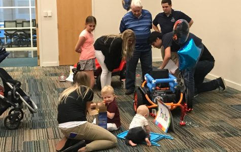 UNF engineers bring an early Christmas to children with disabilities