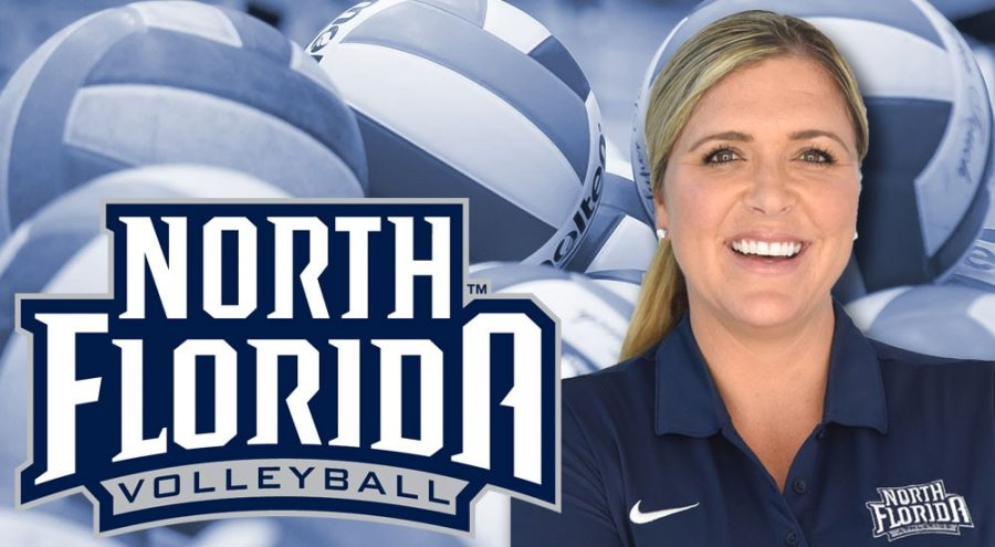 Kristen Wright will be the new head coach for the indoor and beach volleyball teams. Photo courtesy of UNF Athletics