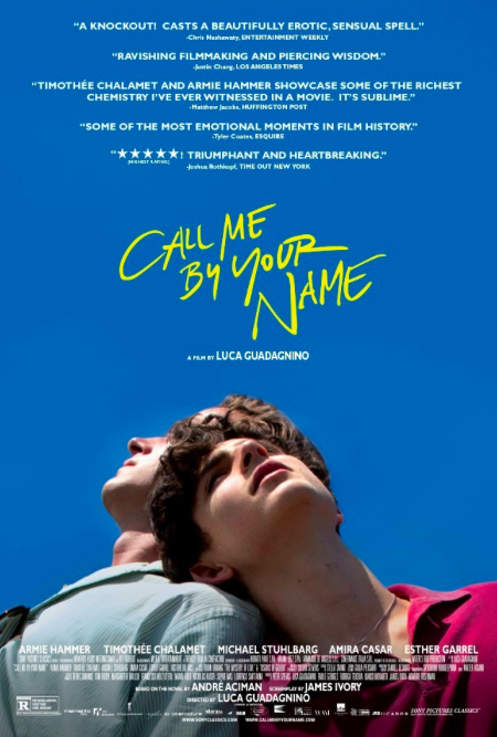 Call Me By Your Name (Sony) - UNF Spinnaker