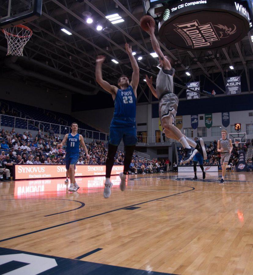 Men's basketball Comeback Ends Short Against FGCU