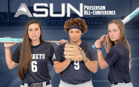 Three Ospreys earn Preseason Softball Honors